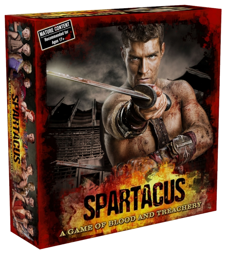 Filme Spartacus with spartacus : a game of blood & treachery